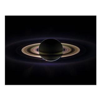 Eclipse de Saturn Tarjetas Postales