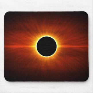 Eclipse de Sun Alfombrilla De Ratón