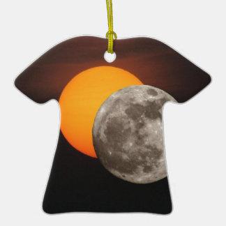 Eclipse Adorno De Cerámica En Forma De Playera