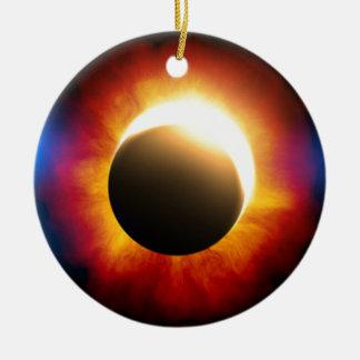 Eclipse Adorno Redondo De Cerámica