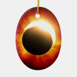 Eclipse Adorno Ovalado De Cerámica