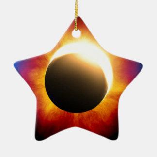 Eclipse Adorno De Cerámica En Forma De Estrella