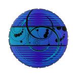 Eclipse del azul de Abstact Jarrones De Caramelos