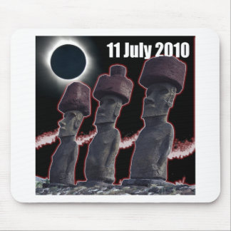 Eclipse Easter Island design 2 Mouse Pad