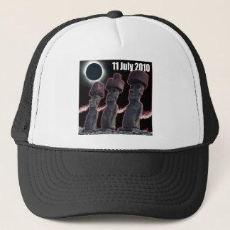 Eclipse Easter Island design 2 Trucker Hat