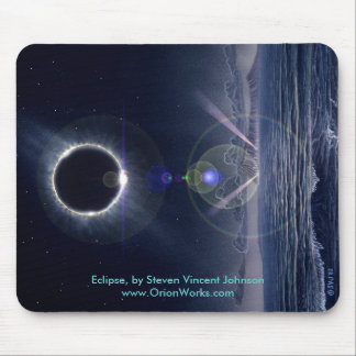 Eclipse, Eclipse, by Steven Vincent Johnsonwww.... Mouse Pad