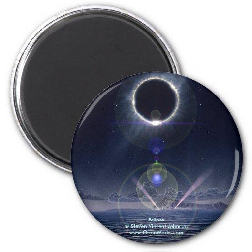 Eclipse, Eclipse Steven Vincent Johnsonwww.Ori... Fridge Magnets