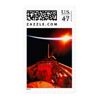 Eclipse from Space Postage