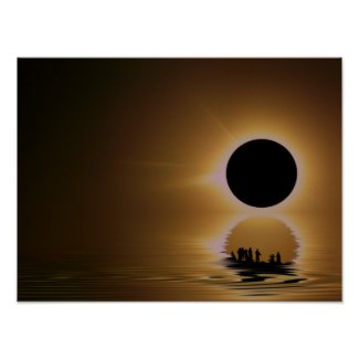 ECLIPSE 'ISM Poster print