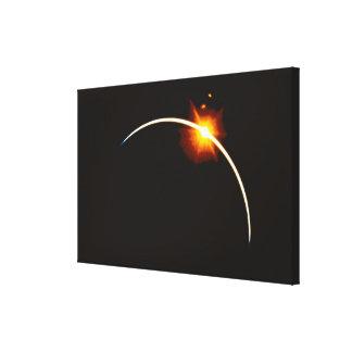 Eclipse Impresión En Lienzo Estirada
