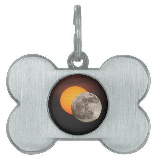 Eclipse Placa De Mascota