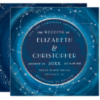 Eclipse Moon Wedding Invitation