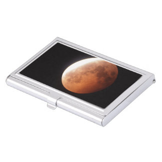 eclipse of the moon business card case