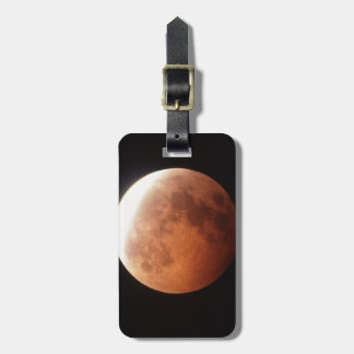 eclipse of the moon bag tag