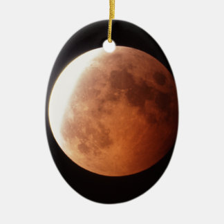 eclipse of the moon christmas ornament
