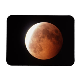 eclipse of the moon vinyl magnet