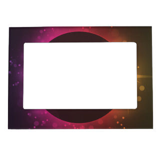 Eclipse of the sun magnetic frame