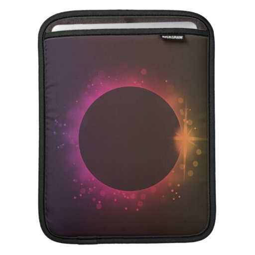 Eclipse of the sun sleeves for iPads