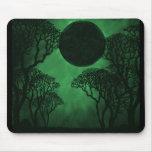 Eclipse oscuro Mousepad del bosque
