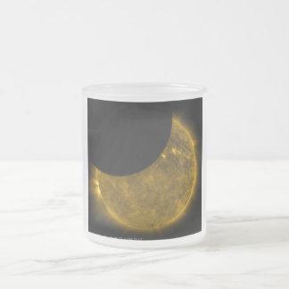 Eclipse parcial del Sun Tazas