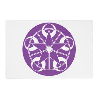 Eclipse-Purple Crop Circle Placemat
