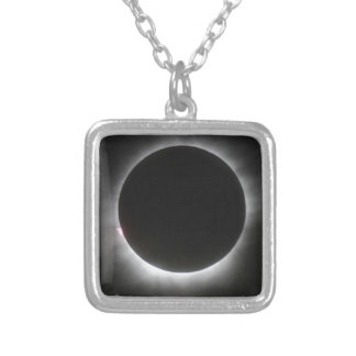 Eclipse Silver Plated Necklace