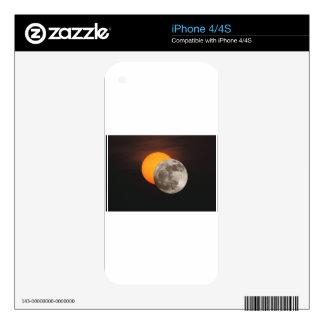 Eclipse iPhone 4 Calcomanía