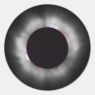 Eclipse solar, 1999 etiqueta redonda