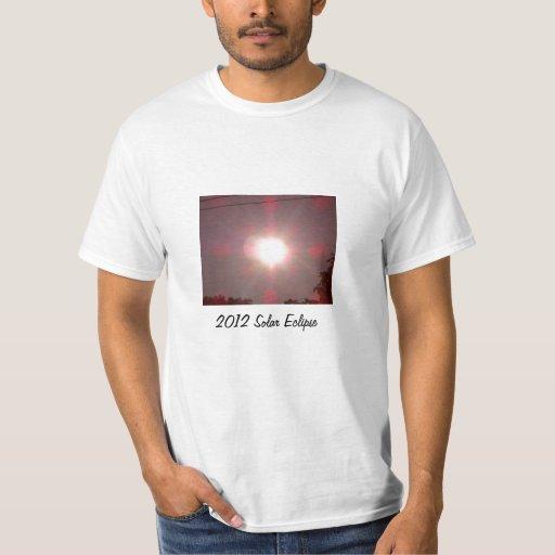 Eclipse solar 2012 playera