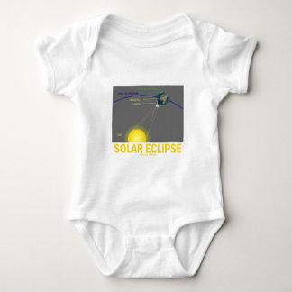 Eclipse solar (actitud de la astronomía) body para bebé