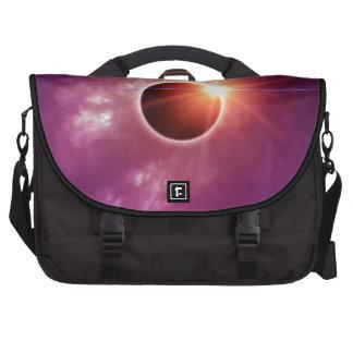 Eclipse solar bolsas para portátil
