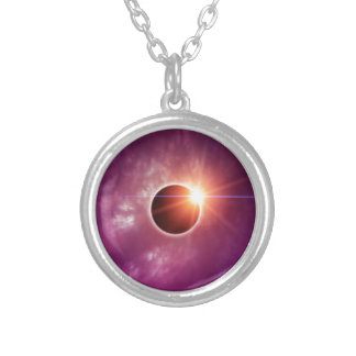 Eclipse solar collar personalizado