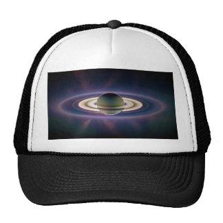 Eclipse solar de Saturn de la nave espacial de Cas Gorras