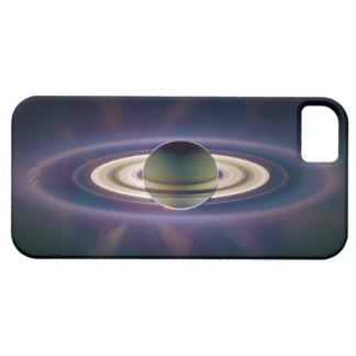Eclipse solar de Saturn de la nave espacial de iPhone 5 Carcasa