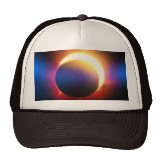 Eclipse solar gorro de camionero