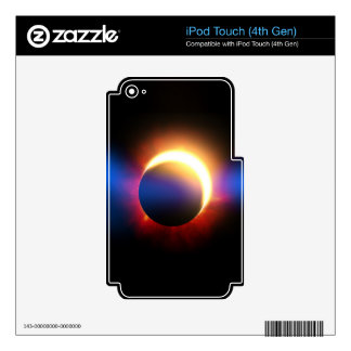 Eclipse solar iPod touch 4G skin