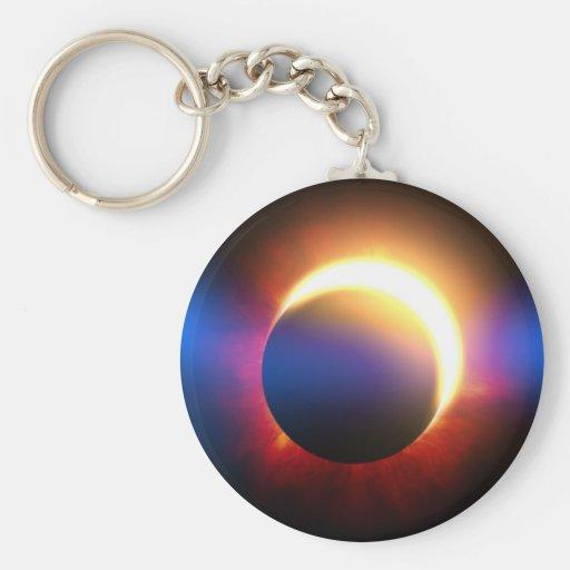 Eclipse solar llaveros personalizados