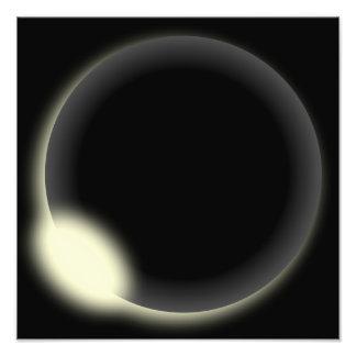 Eclipse solar arte fotografico