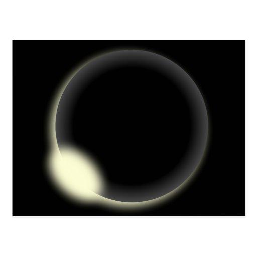 Eclipse solar postales