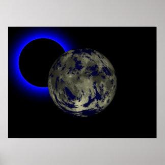 Eclipse solar poster