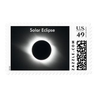 Eclipse solar sellos postales
