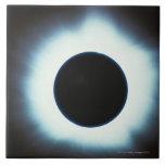 Eclipse solar tejas  cerámicas