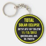 Eclipse solar total 11/13/2012 llavero personalizado
