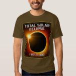 Eclipse solar total de Indonesia (2016) Polera