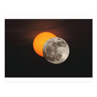 Eclipse Tarjeta Postal