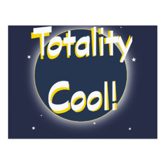 Eclipse Totality Cool! Postcard