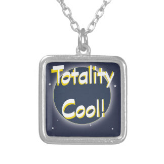 Eclipse Totality Cool! Silver Plated Necklace