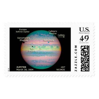 Eclipse triple de la NASA Júpiter Sellos