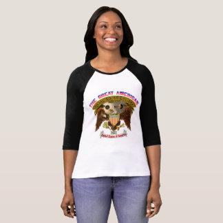 Eclipse Womens T-Shirt American Eagle