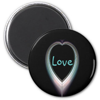 Eclipsed Heart Love Magnet